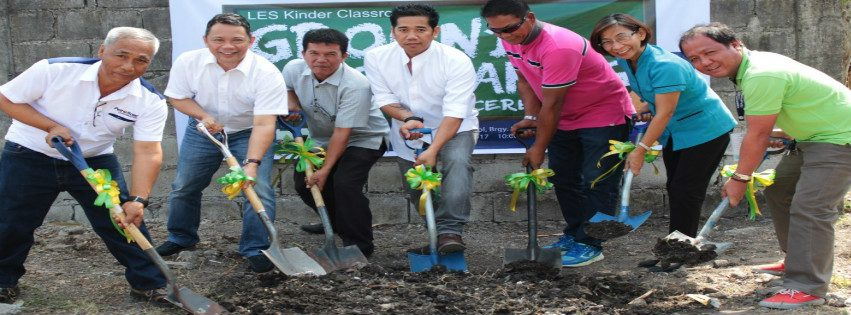 Lourdes Elementary School (LES) Kinder Classroom Groundbreaking Ceremony