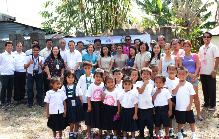 Lourdes Elementary School (LES) Kinder Classroom Groundbreaking Ceremony